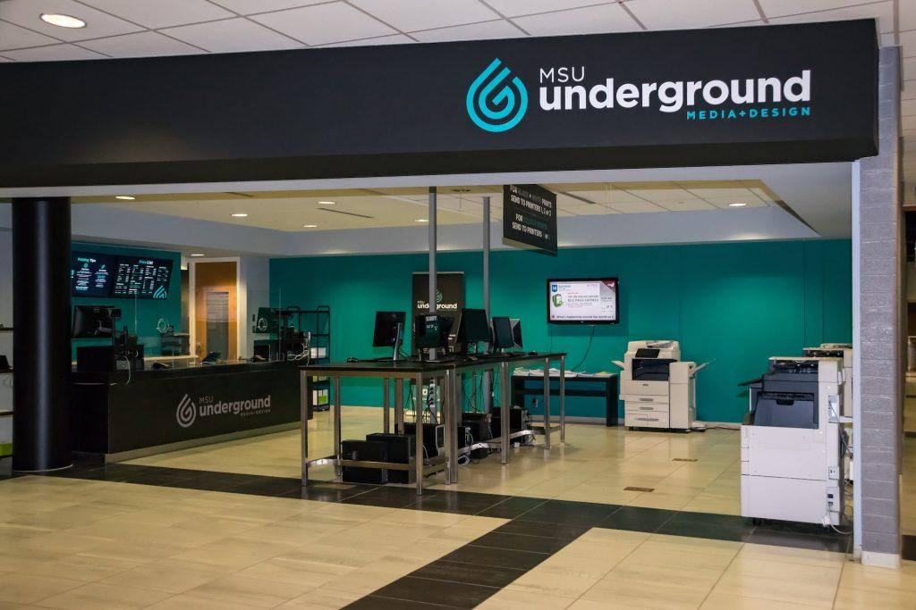 Picture of Underground Media + Design Storefront